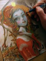 Red-hair Princess - Work in Progress by nati