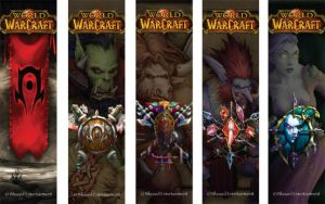 WoW Bookmarks, Horde by sdquanrud