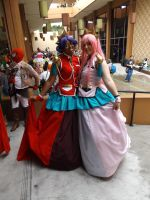 Anthy and Utena by archangelselect