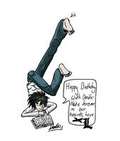 L's poses (coloured) by stelleo