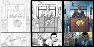 Icons Pg 1 Pencils to Color by axerabbit