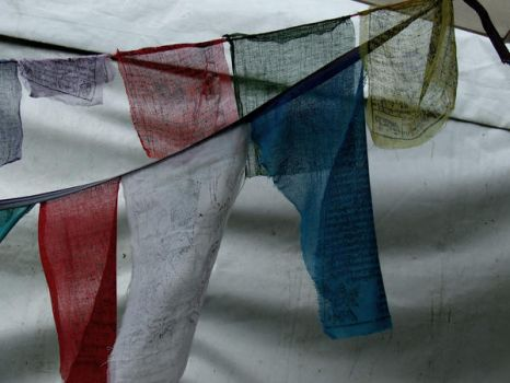 Prayer Flags by Rosary0fSighs