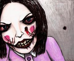 The angry evil doll by insignificantartist