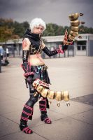 Haseo cosplay: The cool one. by YamiNoShadow