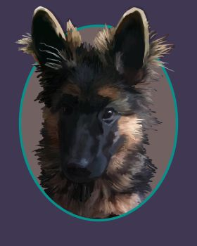 Fritz Portrait January 2017 by SPCreations