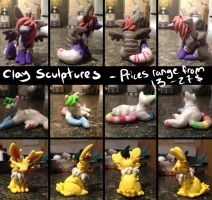 Clay sculpture commissions closed by coffaefox