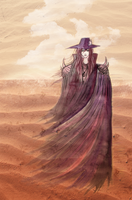 The Desert Sand by the-sinister