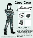 Secrets Of The Ooze: Casey Jones by mooncalfe