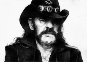 Lemmy Motorhead by Pauwla