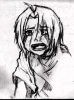 Edward Elric Crying... by I-LUV-Gerardo