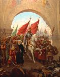 The Entry Of Mehmed II Into Constantinople 1453-1 by eduartinehistorise