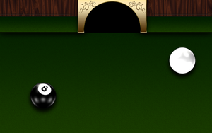 Pool Table Wallpaper by bry5012
