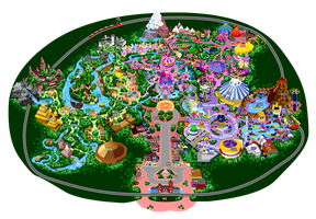Disneyland 9.0 - List of Attractions by mrzahta