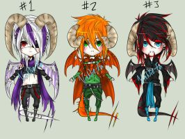 .Demon Adopts. CLOSED by Cytuis
