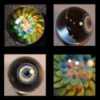 Glass Marble, 1 inch diameter by cold-in-the-north