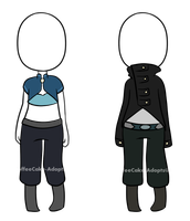 Outfit Adopts 3 by CoffeeCake-Adopts