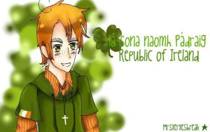 Happy st. Patrick's day! by MrsXerxesBreak