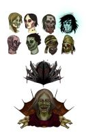 Iconic Undead by tiamatrouge