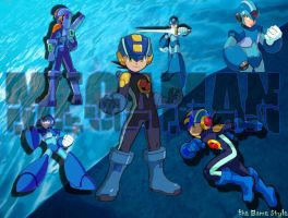 Megaman Wall by thegame88