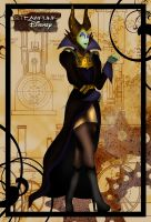Steampunk Maleficent by HelleeTitch