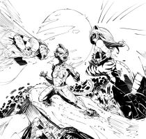 coh battle 2 commish lines by CRISTIAN-SANTOS