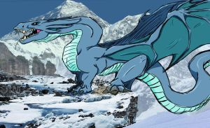 Blue Dragon by MsBlueriver66
