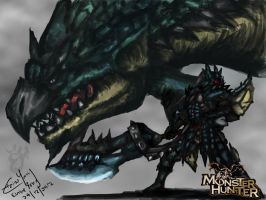 monster hunter by ElaineyYong