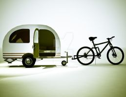 Bicycle Mini Camper Design 6 by sicklilmonky