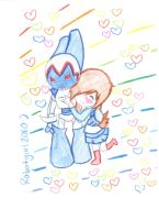 Robotboy loves her xD by Robotgirl2010