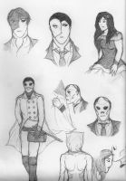 'POTO' Sketches by NOTEBLUE13