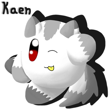 Puffball Kaen by AutumnLeafdust