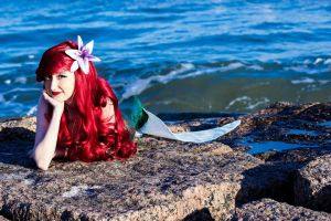 Mermaid out of Water by Melodious-Angel