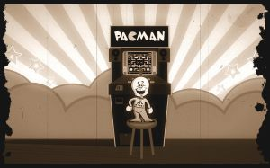 Pac Man forever by mKgfx