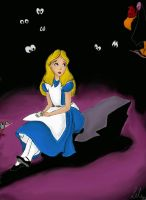 Alice in Wonderland by Elendar89