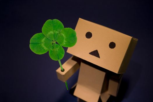 Danbo Four Leaf Clover by pg-images