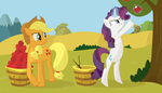 Apple Picking by MissTickles