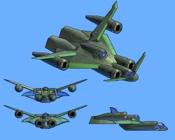 Supply PLane for BulletCrave by Hoxolotl