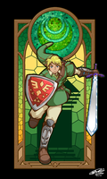 Link Hero of Courage by YamiBliss