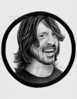 Dave Grohl by DeanSidwellArt