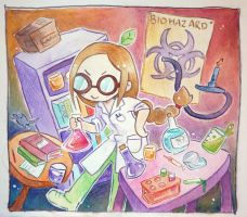 Evil Scientist Silk by scilk