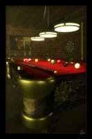Billiards by chromosphere