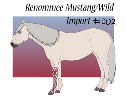 Renommee Wild Import #2 by ReeseS8