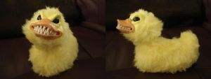evil ducky.. by BellaSofran