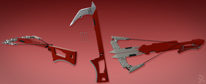 RWBY weapon twin hooks by speedracerdude511
