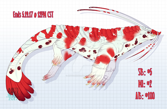 Beast Adoptable Auction 4 - CLOSED by Anti-Dark-Heart