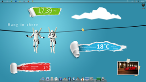 star wars rainmeter by SirdubbleB