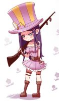 [LOL] Why does Caitlyn get so angry?? by beanbean1988