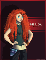 My My, Merida by Hubedihubbe