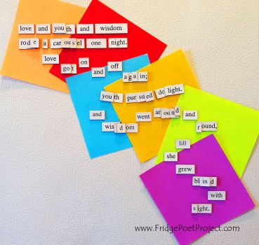 The Daily Magnet #250 by FridgePoetProject