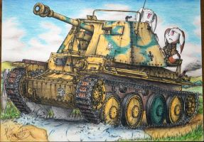 Marder III Ausf.H by Patoriotto